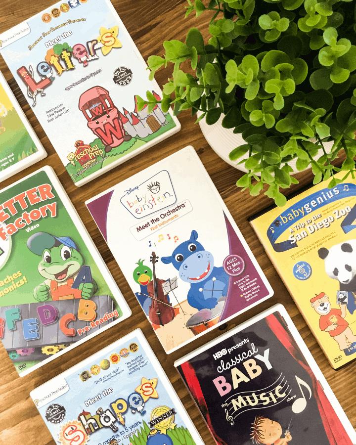 A bunch of educational preschool shows for homeschool families.