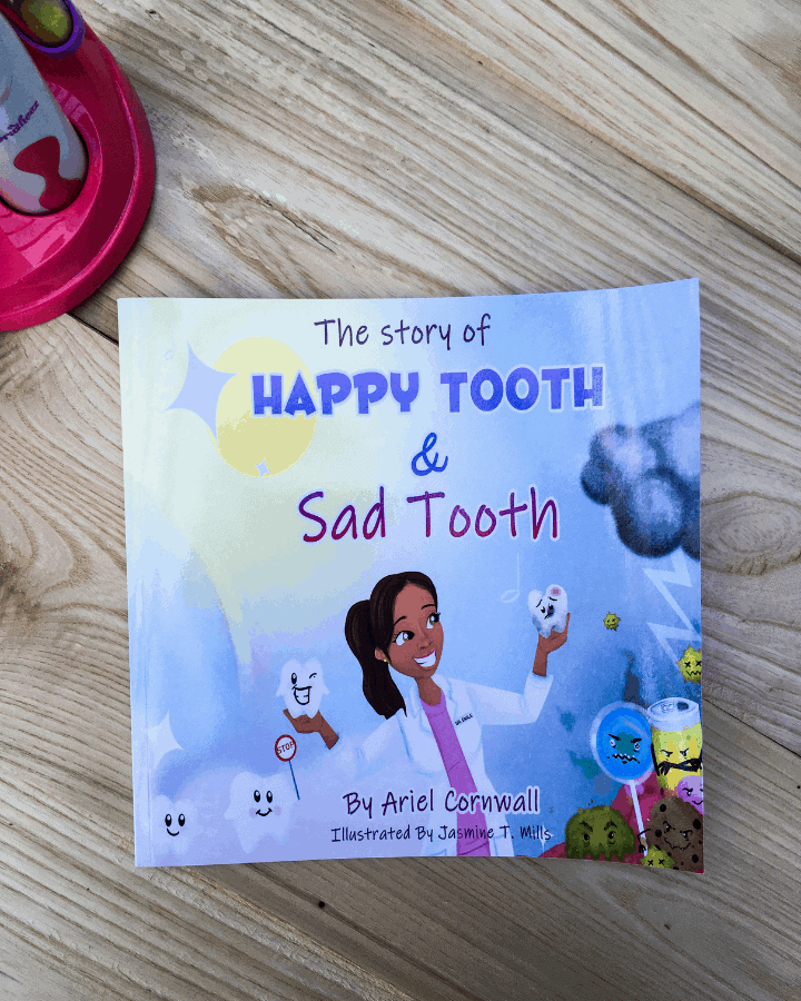 The Story of Happy Tooth and Sad Tooth Children's book.