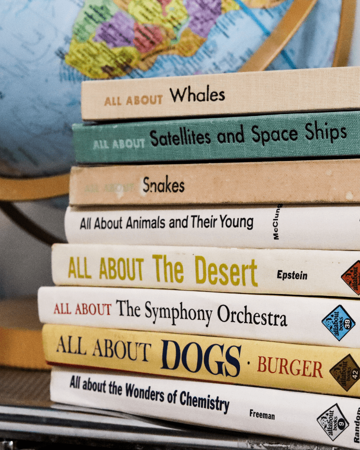 All About Books are some of the best books to put in your homeschool library.