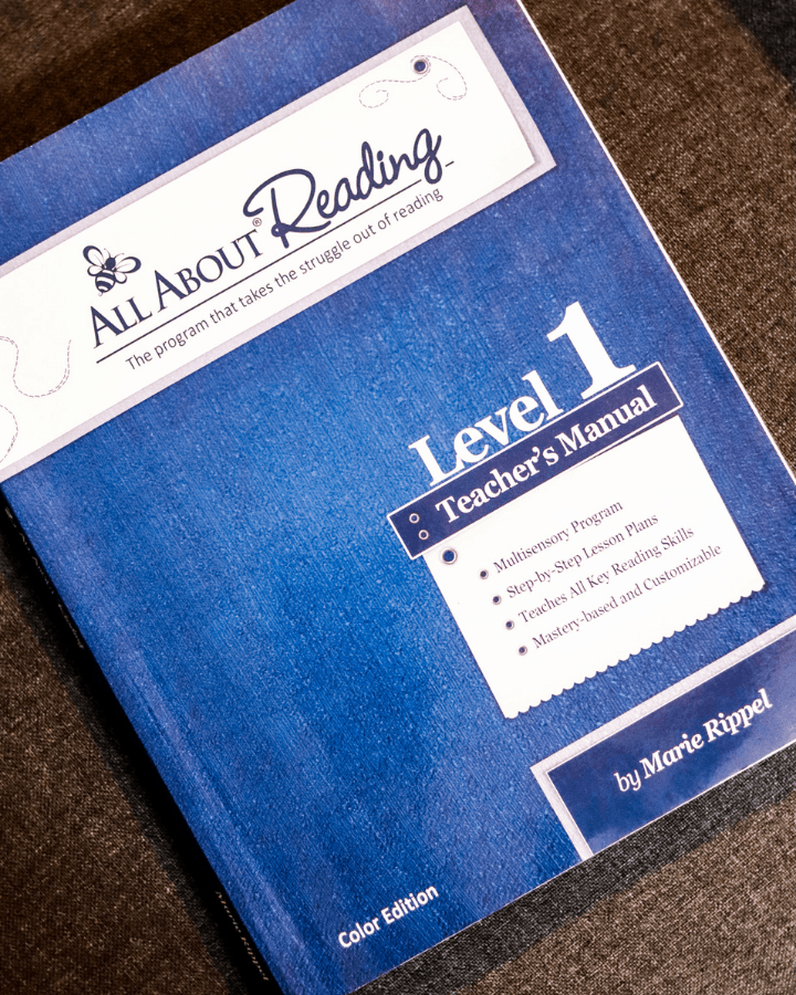 All About Reading Level 1 Teacher's Manual.